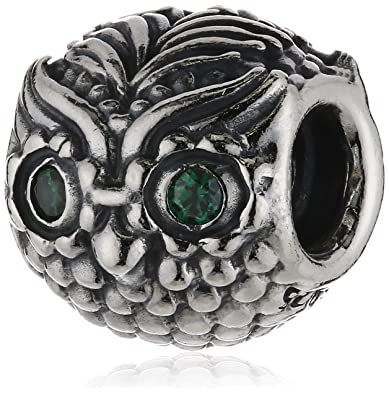 6a7ebbe4e Image Unavailable. Image not available for. Color: Pandora Charm Wise Owl  791211CZN