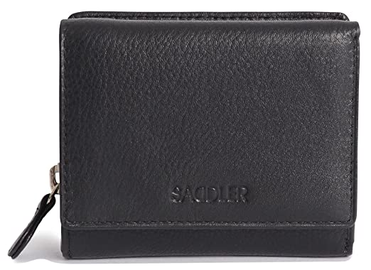 0c9cda7116d7 Saddler Womens Genuine Leather Compact Credit Card Wallet