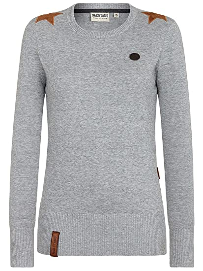 Naketano Damen Strickpullover