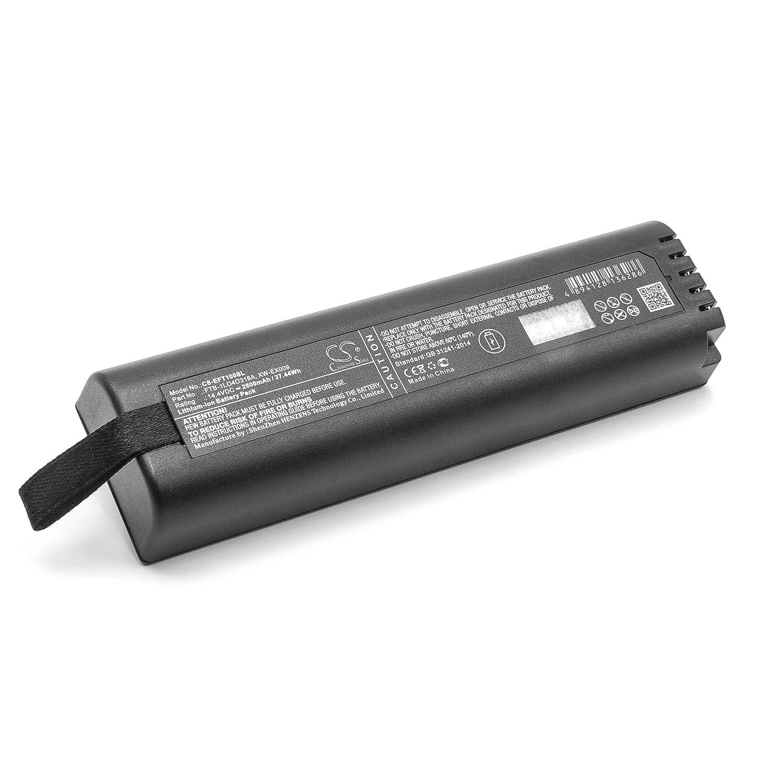 vhbw Li-Ion batería 2600mAh (14.4V) para medidor como EXFO FTB-1LO4D318A, LO4D318A, XW-EX009