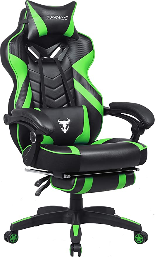 Amazon.com: Green Gaming Chair, High Back Gamer Chair with