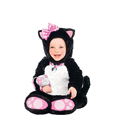 amscan Itty Bitty Kitty Girls Infant Costume: Toys & Games