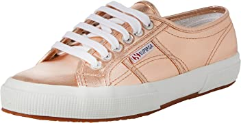 Superga Womens 2750 Cotmetu Low-Top Sneakers Pink