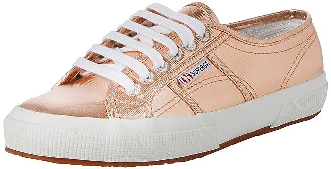 Superga Scarpe Sneaker 2750 COTMETU METALLIC GREY GRIGIO tg. 36 41