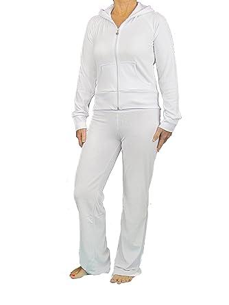 Love Lola Ensemble de jogging en velours avec capuche pour femme   Amazon.fr  Vêtements et accessoires e2249cf71dd