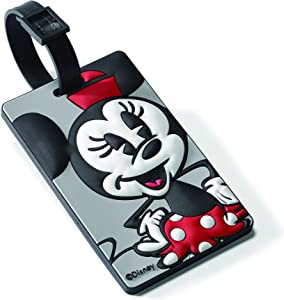 American Tourister Disney Luggage Tag, Minnie Mouse, One Size
