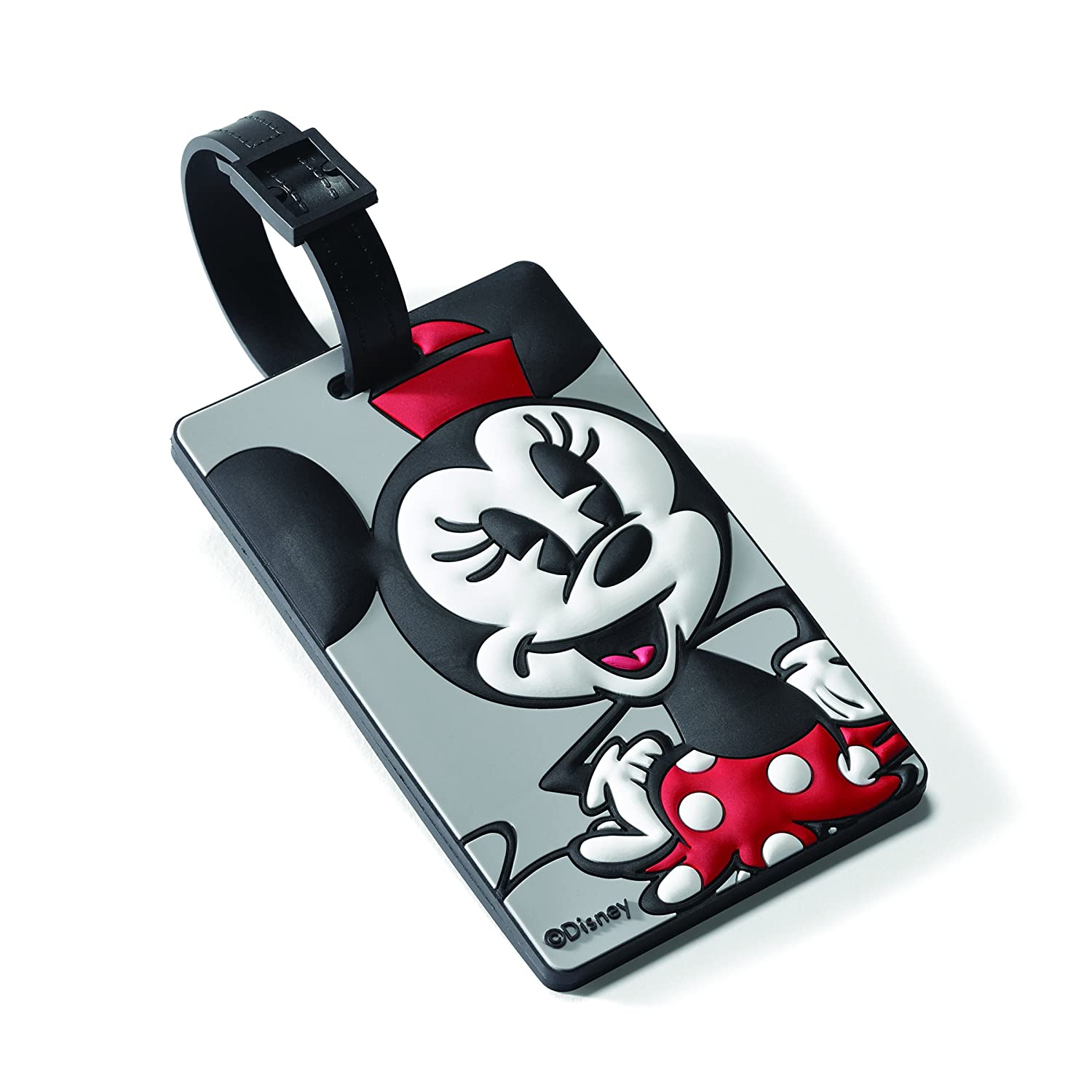 American Tourister Minnie Mouse ID Tag Travel Accessory, Minnie Mouse 74445-4451