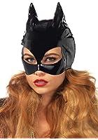 Leg Avenue Women's Vinyl Cat Woman Mask