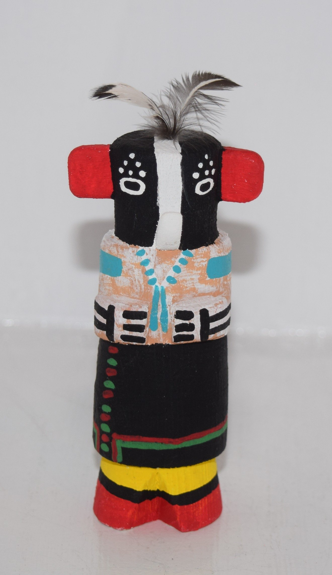 Grace Pooley Collectible Route 66 Hopi Kokopelli Kachina