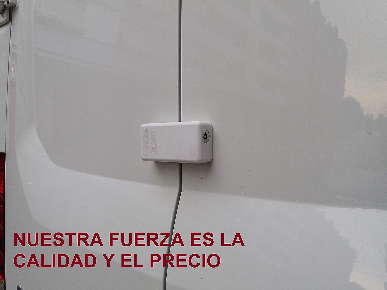 1 Cerradura candado cierre Puertas Furgonetas (BUNKER BLOCK Mod. Manual MN20) MADE IN SPAIN