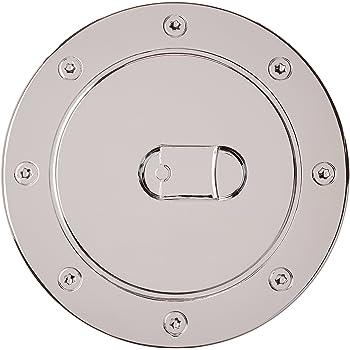 Bully GD-102C Chrome Fuel Door with Lock