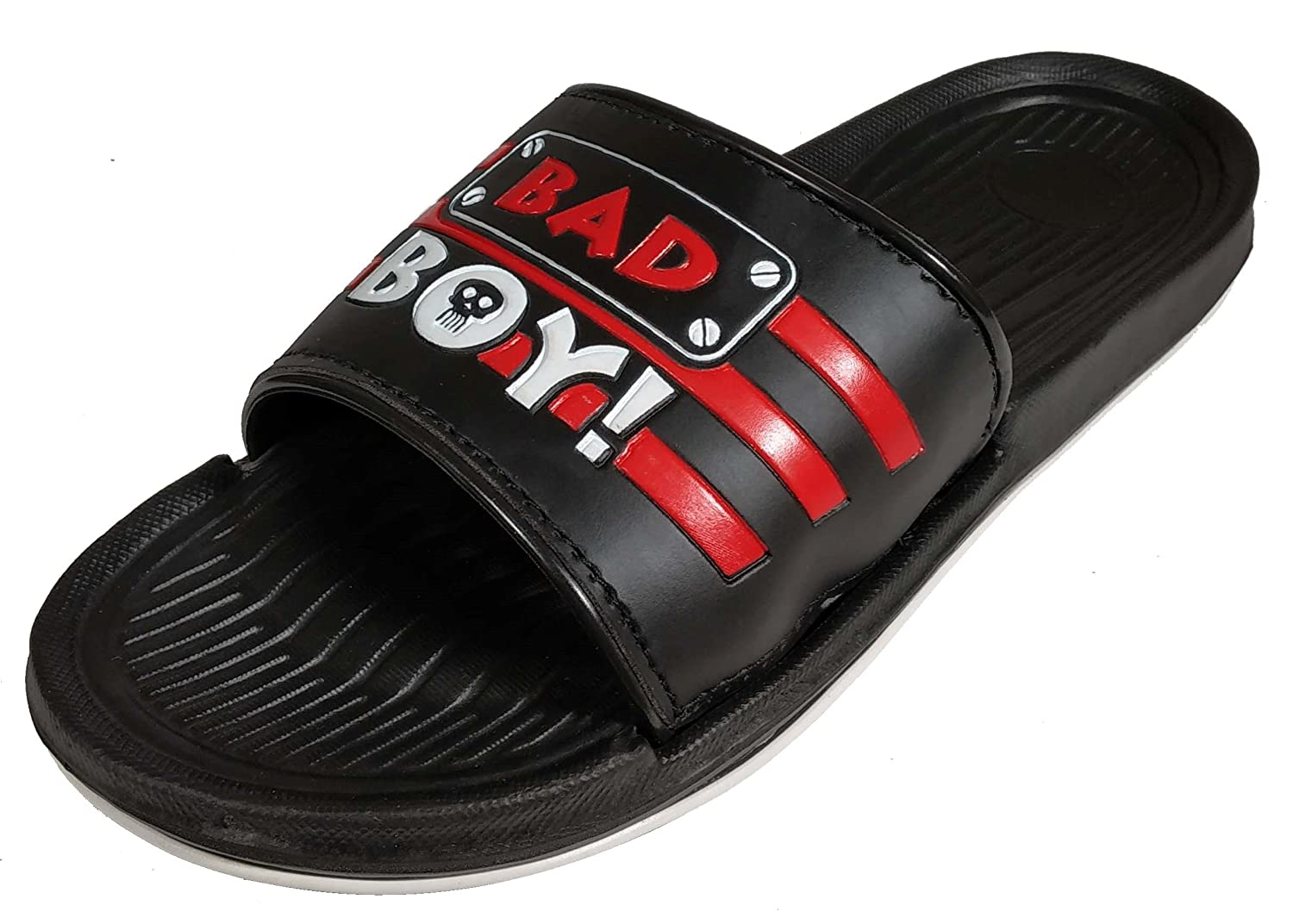 19ffd87c0c423e Aerodix Men Badboy- Black-Red Printed Flip-Flops House Slippers  Buy Online  at Low Prices in India - Amazon.in