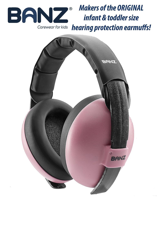 Banz Baby Hearing Protection Earmuffs Pink EM010 takuishi-9596513-001
