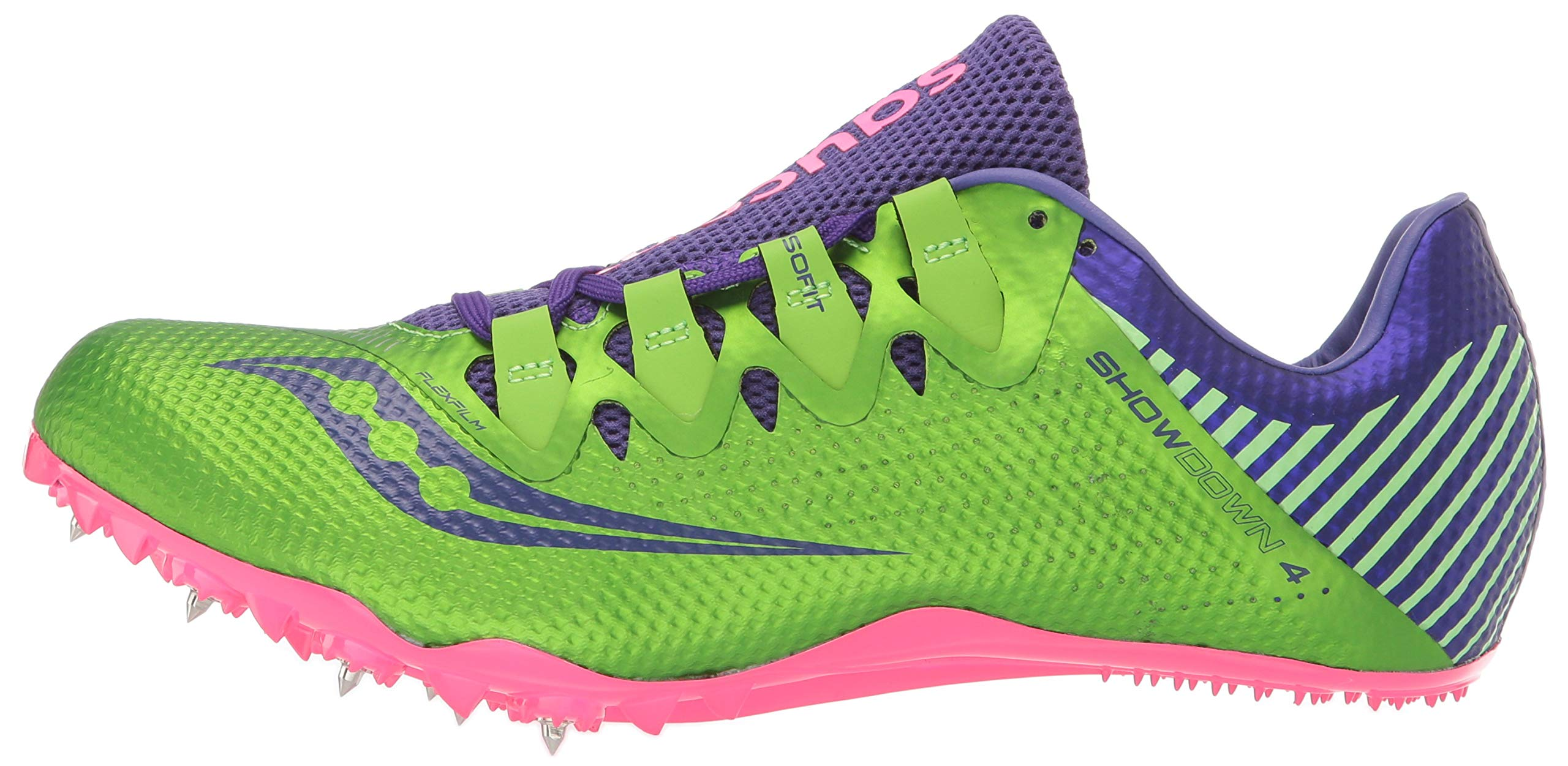 Saucony Showdown 4 Women 5 Slime | Purple by Saucony (Image #5)