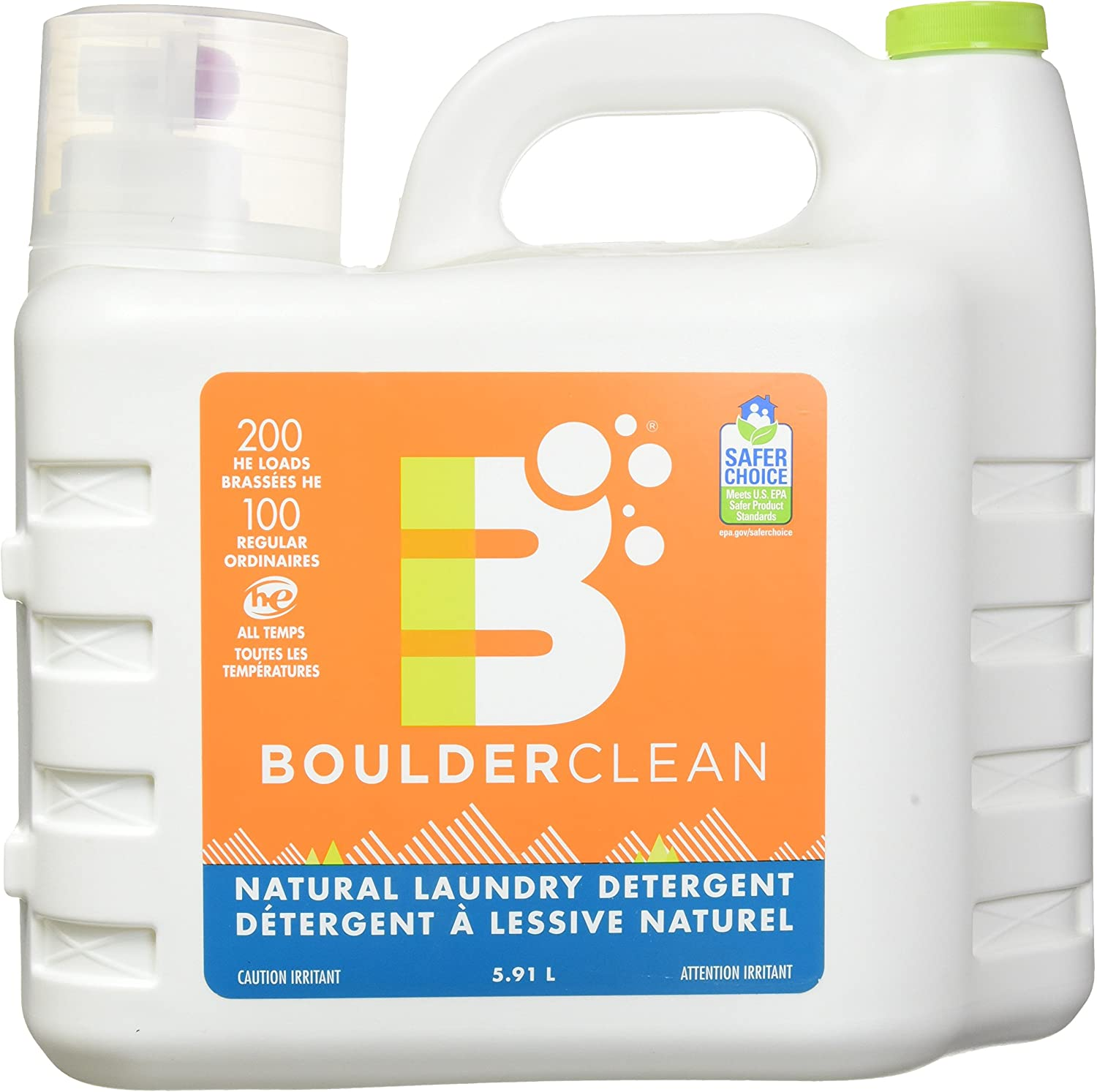 Boulder Cleaners, Laundry Detergent, 200 Fl Oz
