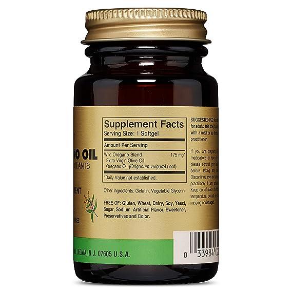 Aceite de oregano silvestre candidiasis