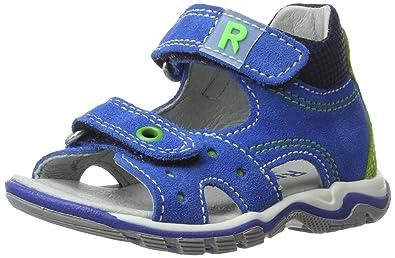 Richter Kinderschuhe Jumbo, Chaussures Marche Bébé Garçon, Bleu (Lagoon/Apple/Atlanti), 26 EU