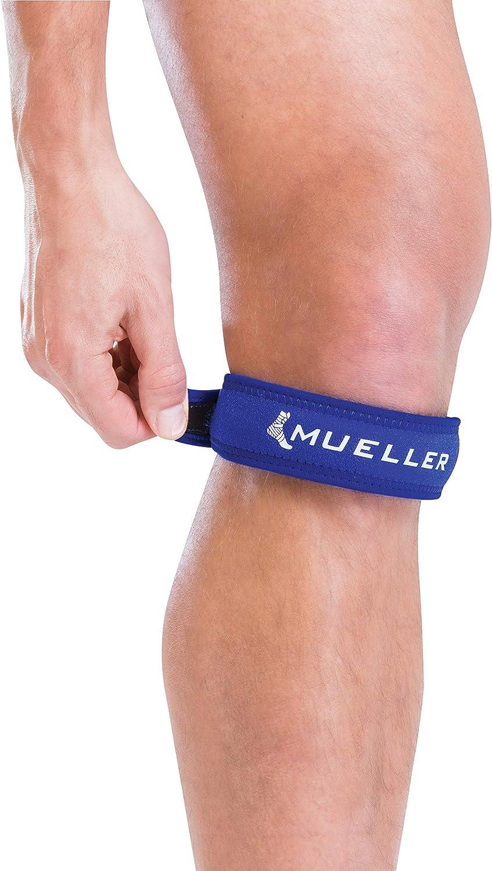 Mueller 993EU, Cincha Rotuliana Unisex Adulto, Azul, Talla única ...