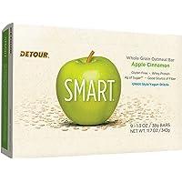 Detour Smart Gluten Free Oatmeal Bar, Apple Cinnamon, 11.7 Ounce, 9 Count