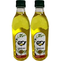 AHLIVE Pomace Olive Oil - 1 LTR Pack of 2