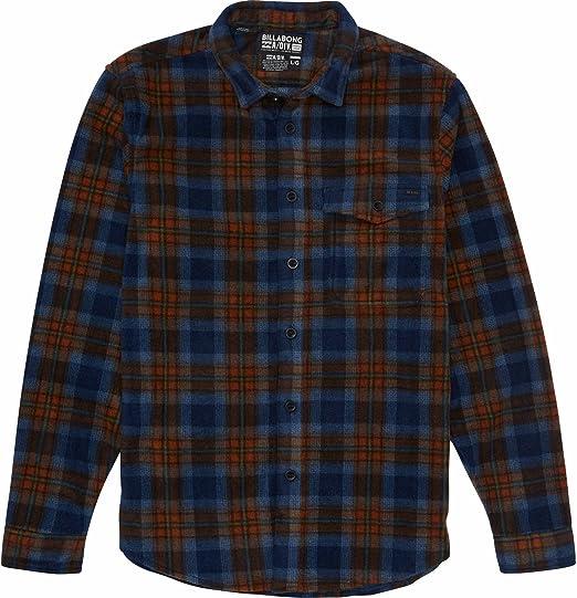 Billabong Mens Henderson Long Sleeve Woven Flannel