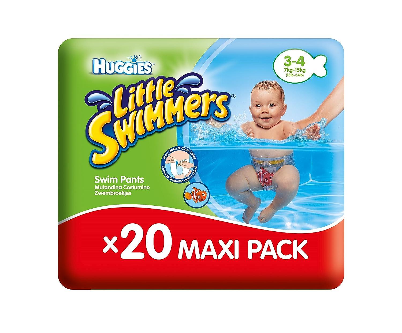 Huggies - Bañadores desechables, talla 3-4 , 20 unidades: Amazon.es: Amazon Pantry