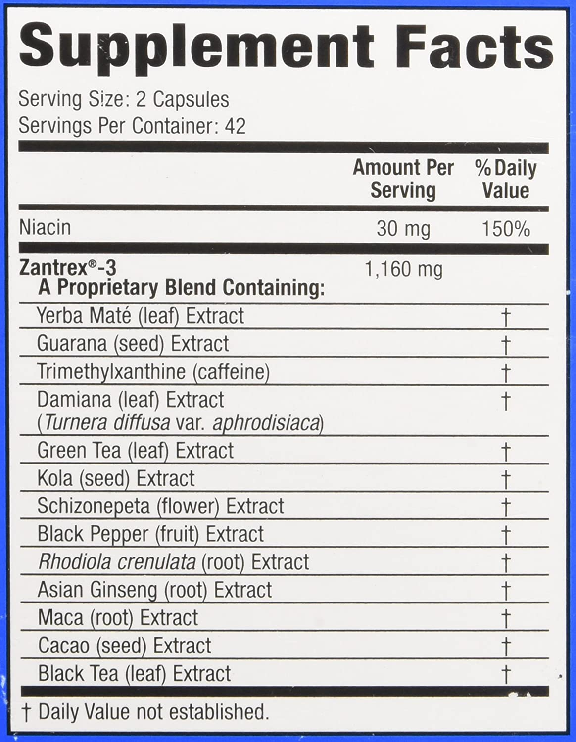 Amazon: Zantrex Red, High Energy Rapid Release Extreme Fat Burner, 56  Count: Health & Personal Care