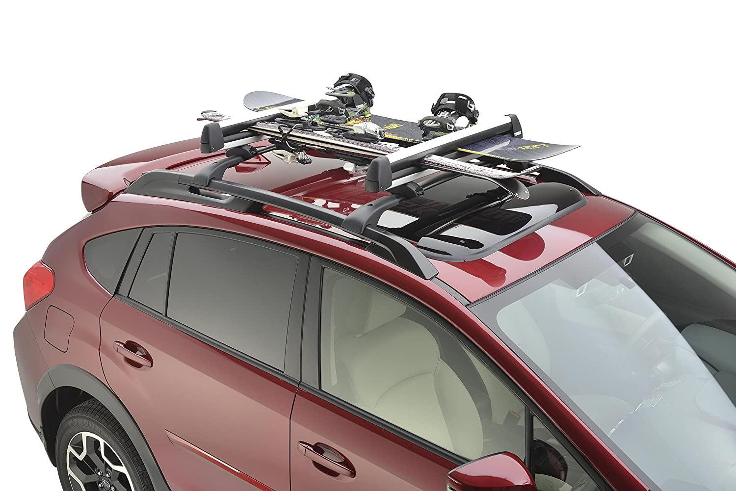 SUBARU Genuine SOA567S010 Ski and Snowboard Carrier