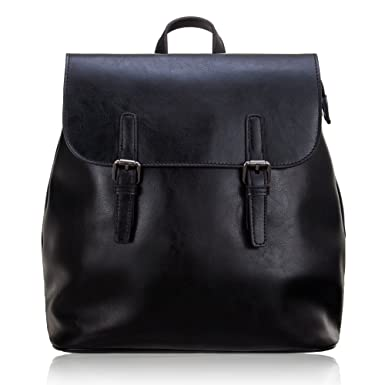 793a769a60 Women  s Genuine Leather Small Backpack School Bag Travelling Bag Made of  Oiled Cow Leather