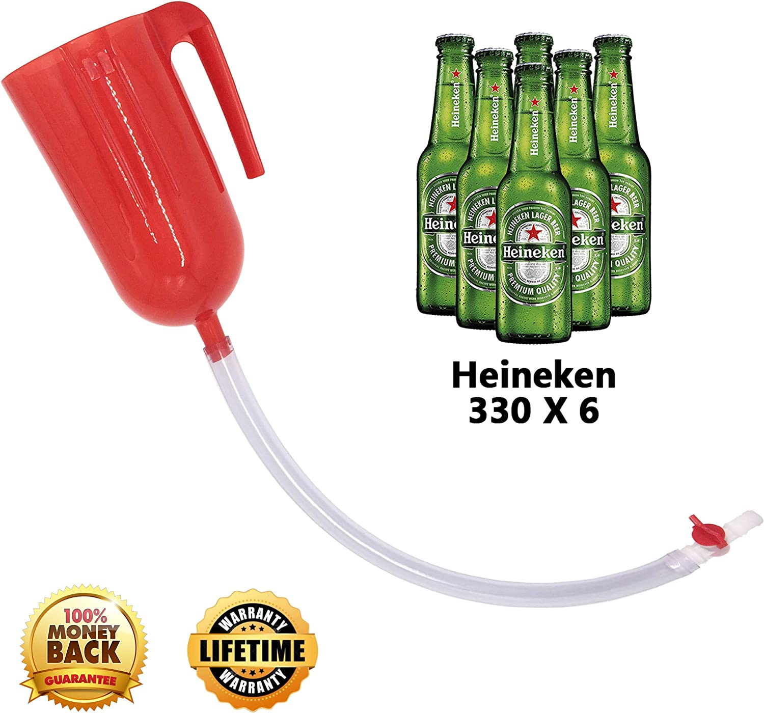 Party Drinking Beer Funnel Adult Drinking Games Beer Bong