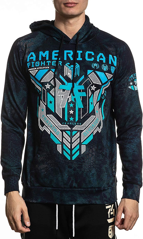 American Fighter Mens Coldspring Long Sleeve NT Pullover Hood