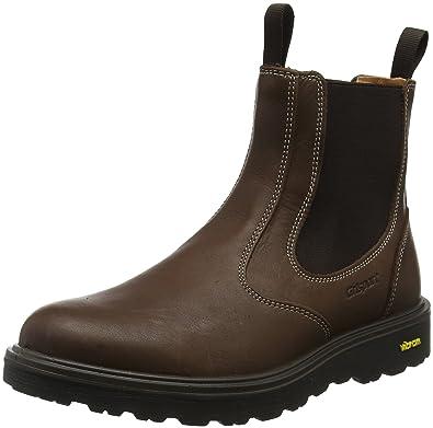 Mens Chukka S3 Safety Boots Brown 10 UKGrisport MU665