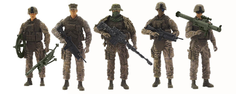 Elite Force Marine Recon Action Figure Blue Box (Toys) 004578