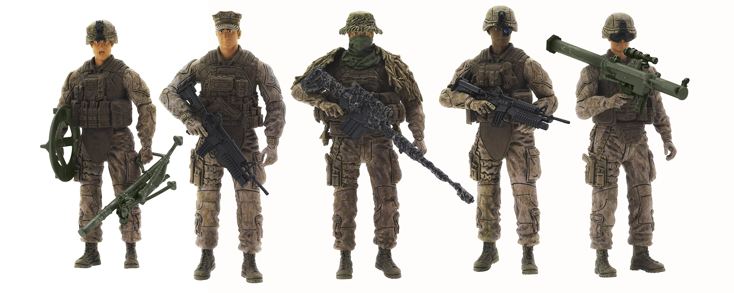 Military Toys Elite Force 1 18 : Marine action figures scale toy soldiers elite