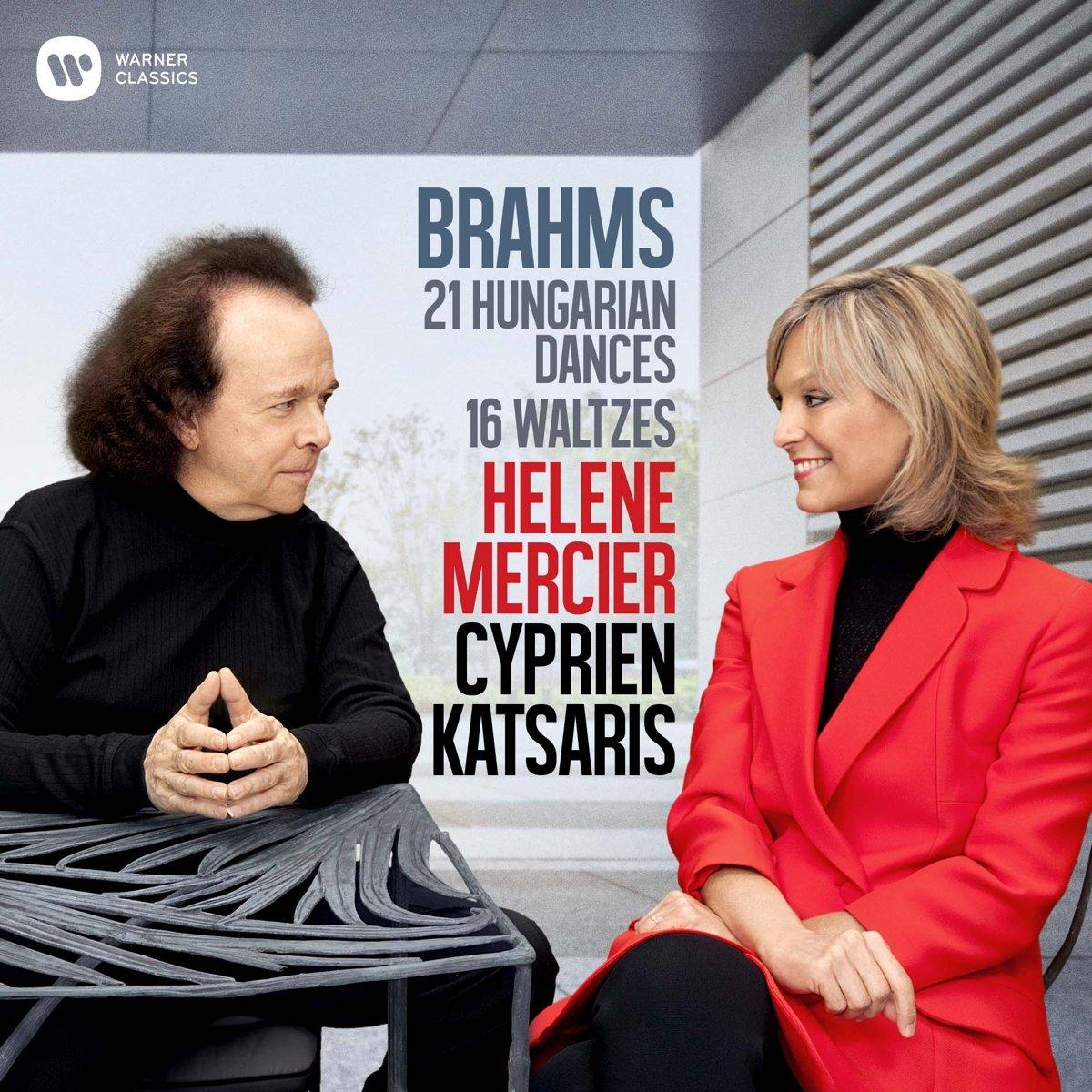 CD : CYPRIEN KATSARIS & HELENE MERCIER - Brahms: Hungarian Dances (CD)