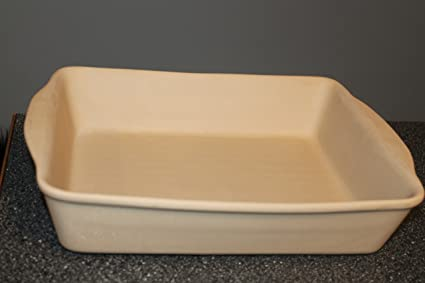 Home And Garden Party LTD Stoneware 15u0026quot; X 12u0026quot; Bakeware Lasagna  Pan MINT Condition