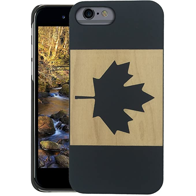 quality design b1956 003a5 Wood iPhone Case - iPhone 6s PLUS / iPhone 6 PLUS Case - WDPKR Wooden Phone  Cover - UNIQUE High Contrast Black Painted Wood Bumper Accessory for Apple  ...