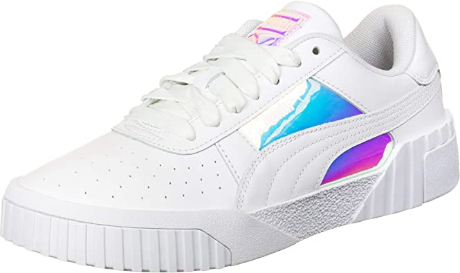 PUMA Cali Glow Womens White Sneakers