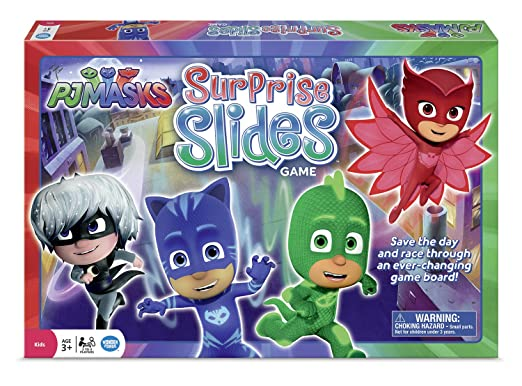 Wonder Forge PJ Masks Surprise Slides Game
