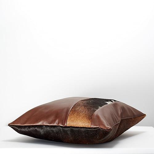 Prime Amazon Com Capra Leather Cushion For Men 24 Brown Outdoor Ibusinesslaw Wood Chair Design Ideas Ibusinesslaworg