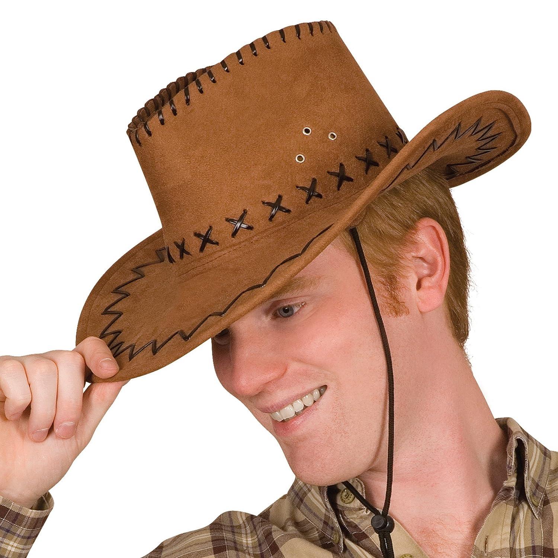 gorro//sombrero Brown cowboy hat