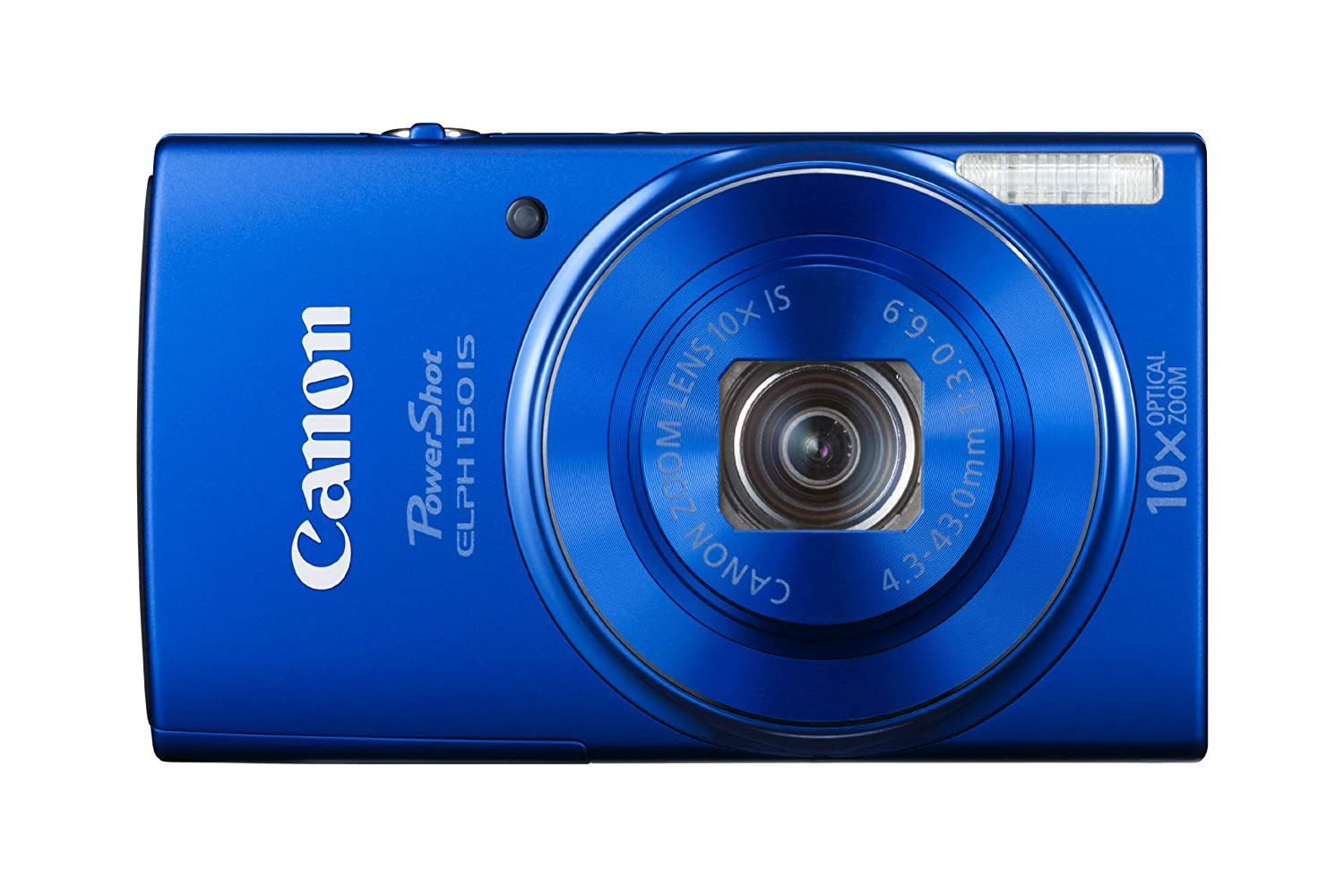 5cb0567afef Amazon.com   Canon PowerShot ELPH 150 IS Digital Camera (Blue)   Camera    Photo