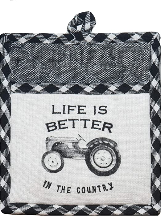 Kay Dee Designs Farm Life Country Oven Mitt