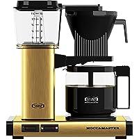 Moccamaster Filter kaffemaskin KBG 741 AO, 1,25 liter, 1520 W, borstad mässing