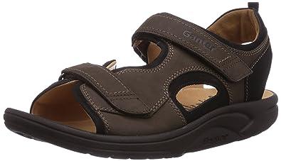 Ganter Aktiv Guido, Weite G - Zapatos con Cordones de Cuero Hombre, Grau (Schwarz 0100), 50