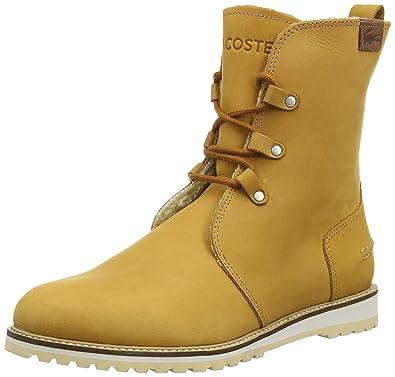 f18fb58261e430 Lacoste Women s Baylen 4 Warm Lined Chukka Boots Halbschaft Boots ...