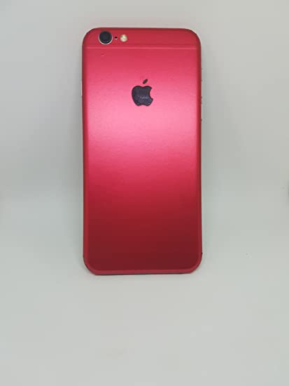 wholesale dealer 095a3 a16cf StickOn iPhone 6 Plus Product Red Mobile Skin: Amazon.in: Electronics