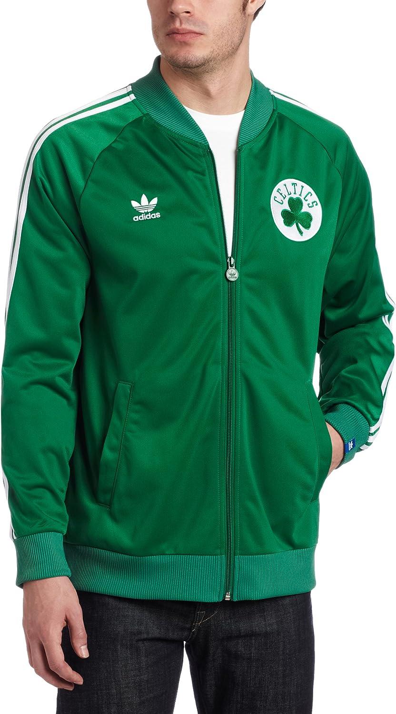 adidas Boston Celtics Originals Legacy Primary Logo Green Track ...