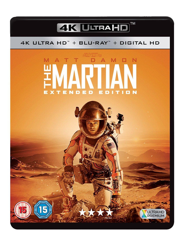The Martian: Extended Edition 4K [4K Ultra HD + Blu-ray + Digital HD] ]