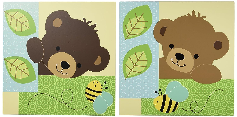 Amazon.com : Lambs & Ivy Wall Decor, Honey Bear : Nursery Wall ...